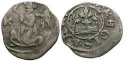 World Coins - Hungary. Karl Robert von Anjou AR Denar