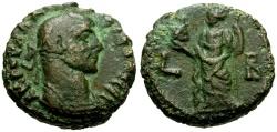 Ancient Coins - Diocletian, Egypt Alexandria Billon Tetradrachm / Alexandria