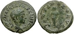 Ancient Coins - Severus Alexander Æ Limes Denarius / Providentia