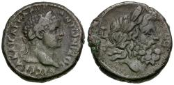Ancient Coins - Elagabalus (AD 218-222). Egypt. Alexandria Billon Tetradrachm / Zeus Ammon