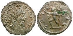 Ancient Coins - Postumus (AD 260-269) AR Antoninianus / Sol