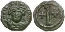 Ancient Coins - *Sear 472* Byzantine Empire. Tiberius II Constantine (AD 578-582) Æ Decanummium
