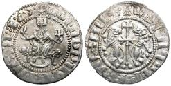 World Coins - Kings of Cilician Armenia. Levon I (AD 1199-1219) AR Tram