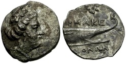 Ancient Coins - Macedonia. Uncertain mint. Time of Philip V and Perseus AR Tetrobol / Prow