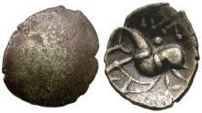 Ancient Coins - Britain. North Eastern Region. Corieltavi. Aunt Cost Uniface type AR unit