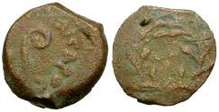 Ancient Coins - Judaea. Roman Procurators. Pontius Pilate (AD 26-36) Æ Prutah / LH