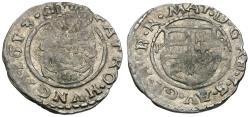 Ancient Coins - Hungary. Matthias II (1612-1619) AR Denar