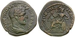 Ancient Coins - Maximinus I Thrax (AD 235-238). Bithynia. Nicomedia Æ24 / Athena with Flutes