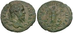 Ancient Coins - Septimius Severus (AD 193-211) Æ AS / Victory