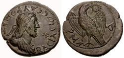 Ancient Coins - EF/aEF Bosporian Kings, Sauromates II Æ 96 Units / Eagle