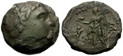 Ancient Coins - Thessaly, Metropolis Æ Trichalkon / Apollo / Aphrodite