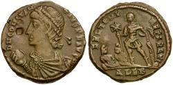 Ancient Coins - Constantius II as Augustus Æ Centenionalis / Emperor and captives