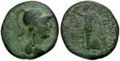 Ancient Coins - Seleucis and Pieria. Apameia Æ20 / Nike