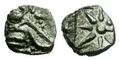 Ancient Coins - Ionia.  Ephesos AR Hemiobol / Star