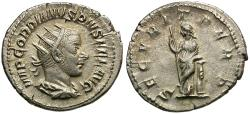 Ancient Coins - Gordian III (AD 238-244) AR Antoninianus / Securitas