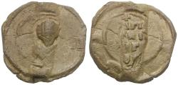 Ancient Coins - Byzantine Empire Lead Seal