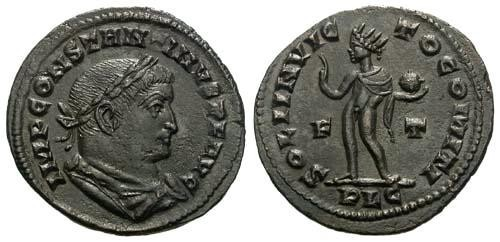Ancient Coins - EF/EF Constantine the Great / Sol / Sharp Coin