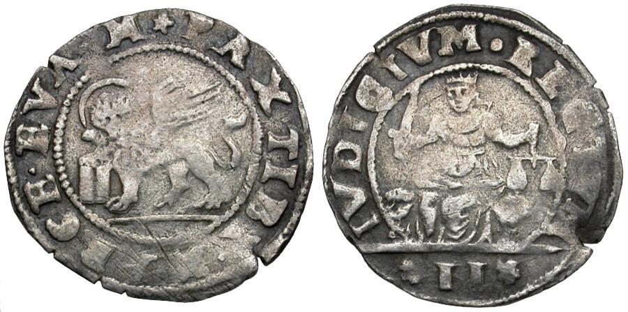 World Coins - Italy. Venice. Anonymous AR 2 Grosso