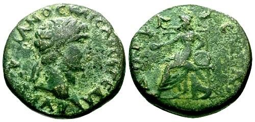 Ancient Coins - aVF/aVF Trajan Phrygia Dorylaeum / Kybele