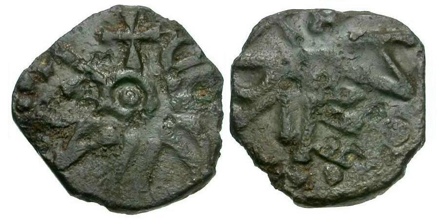 World Coins - Anglo-Saxon Kings of Northumbria. Eanred Irregular Æ Styca