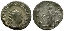Valerian I AR Antoninianus / Salus