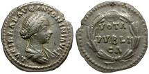 Ancient Coins - Lucilla AR Denarius / Wreath