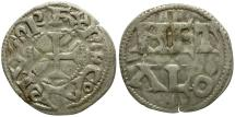 World Coins - France. Carolingians. Time of Charles the Simple. Louis d'Outremer AR Denier