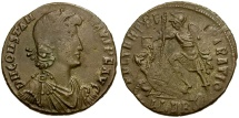 Constantius II Æ Centenionalis / Fallen Horseman