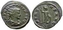 Ancient Coins - VF/VF Claudius II Gothicus BI Antoninianus / Virtus