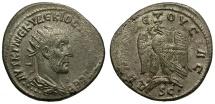 Ancient Coins - Trajan Decius. Antioch AR Tetradrachm / Eagle