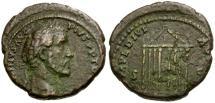 Ancient Coins - Antoninus Pius Æ AS / Temple