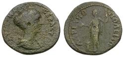 Ancient Coins - Faustina II. Thrace. Hadrianopolis Æ22 / Homonoia