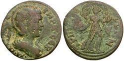 Ancient Coins - Otacilia Severa (AD 244-249). Lydia. Tripolis Æ31 / Leto