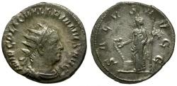 Ancient Coins - Valerian I AR Antoninianus / Salus