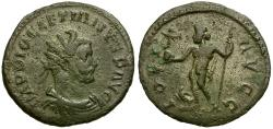 Ancient Coins - Diocletian Æ Antoninianus / Jupiter