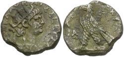 Ancient Coins - Nero (AD 54-68). Egypt. Alexandria Billon Tetradrachm / Eagle