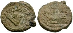Ancient Coins - France. Nimes Pb Merchant or Bag Seal