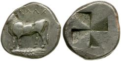 Ancient Coins - Bithynia. Kalchedon AR Siglos / Bull and incuse