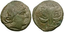 Ancient Coins - Thrace. Apollonia Pontika Æ19 / Anchor