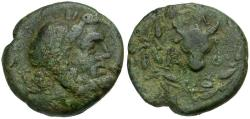 Ancient Coins - Islands off Ipirus. Corcyra Æ17 / Bull