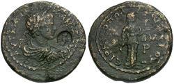 Ancient Coins - Caracalla. Cilicia. Irenopolis-Neronias Æ28 / Hygeia
