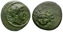 Ancient Coins - Cilicia. Mallos Æ12 / Pyramos & Gorgon