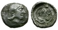 Ancient Coins - Dynasts of Lycia. Kherei AR Obol / Athena