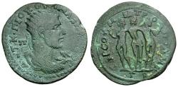 Ancient Coins - Maximinus I.  Cilicia. Tarsus Æ37 / Three Graces