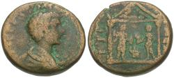 Ancient Coins - Commodus, as Caesar (AD 166-177) Judaea. Gaza Æ23