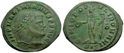 Ancient Coins - Maximianus Æ Follis / Genius