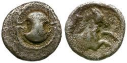 Ancient Coins - Boeotia. Tanagra AR Obol / Shield