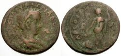 Ancient Coins - Valerian, Cilicia Tarsos Æ27 / Dionysos