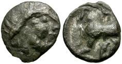 Ancient Coins - Hungarian Celts AR Drachm / Horse
