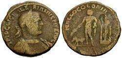 Ancient Coins - Valerian, Cilicia Mallus Æ31 / Amphilochos